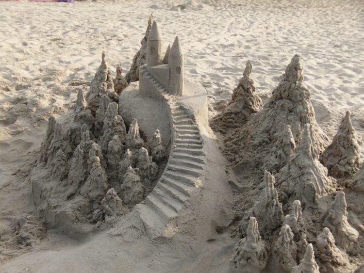 castelli sabbia lido di camaiore