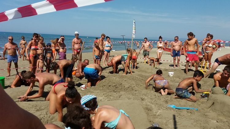 Festival castelli sabbia 2018